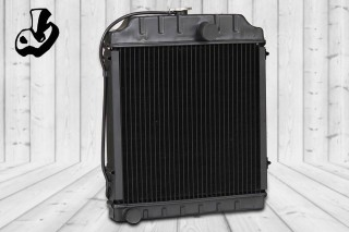 RADIATOR ASSY.  SIZE: 19.5 x 20 (5 ROW)  OEM: MILLAT TRACTOR  Loads Code = 3306-001  VEHICLE: MF-375 TRACTOR