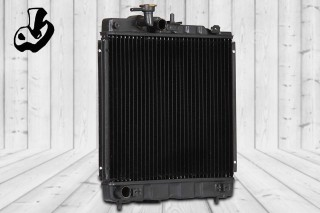 RADIATOR ASSY.  Size: 13.7 x 13.7 (2ROW)  OEM: PSMCL  Loads Code = 3301-160  VEHICLE: ALTO (VXR)